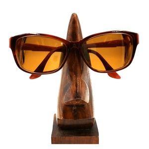 Elle Tortoise Oversized Oval Sunglasses Frames